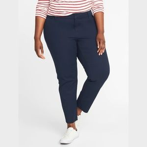 24 Short OLD NAVY Plus Size Pixie Midrise Pant NWT